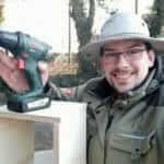 Bauaktion - Jan-Eric bei der Arbeit